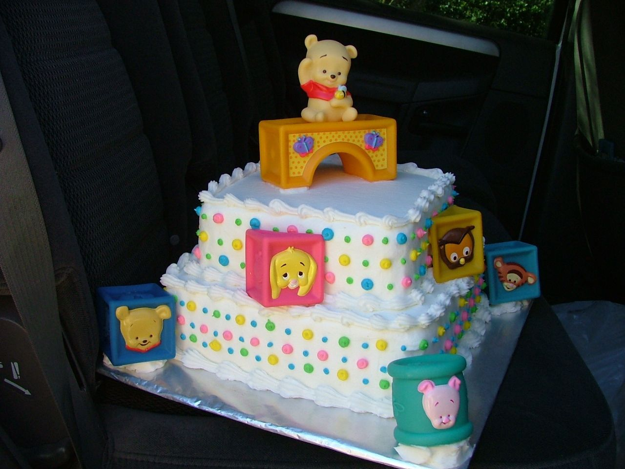 Baby Shower Cakes | Winnie The Pooh Baby Shower Cake