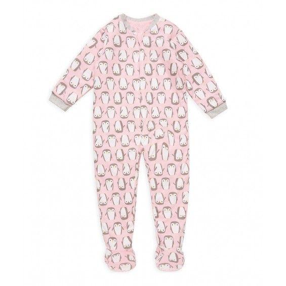 Mothercare Pijama Manta Acolchado Pinguino Rosa Pijamas Para Ninas