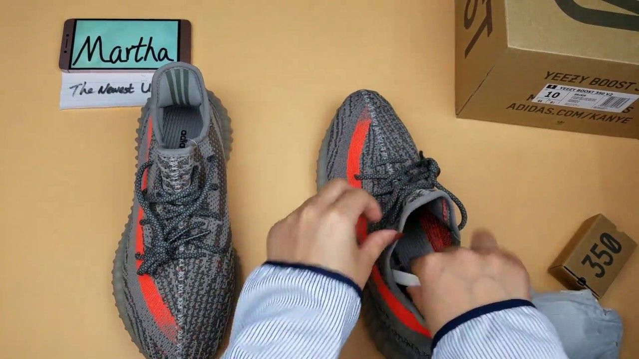 89ad2e6cce8 The Newest UA Yeezy Boost 350 V2 Beluga SPLY-350 Grey Orange Unboxing Re