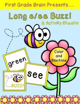 Print The Word Cards And Buzz Two Options Are Available Full Color