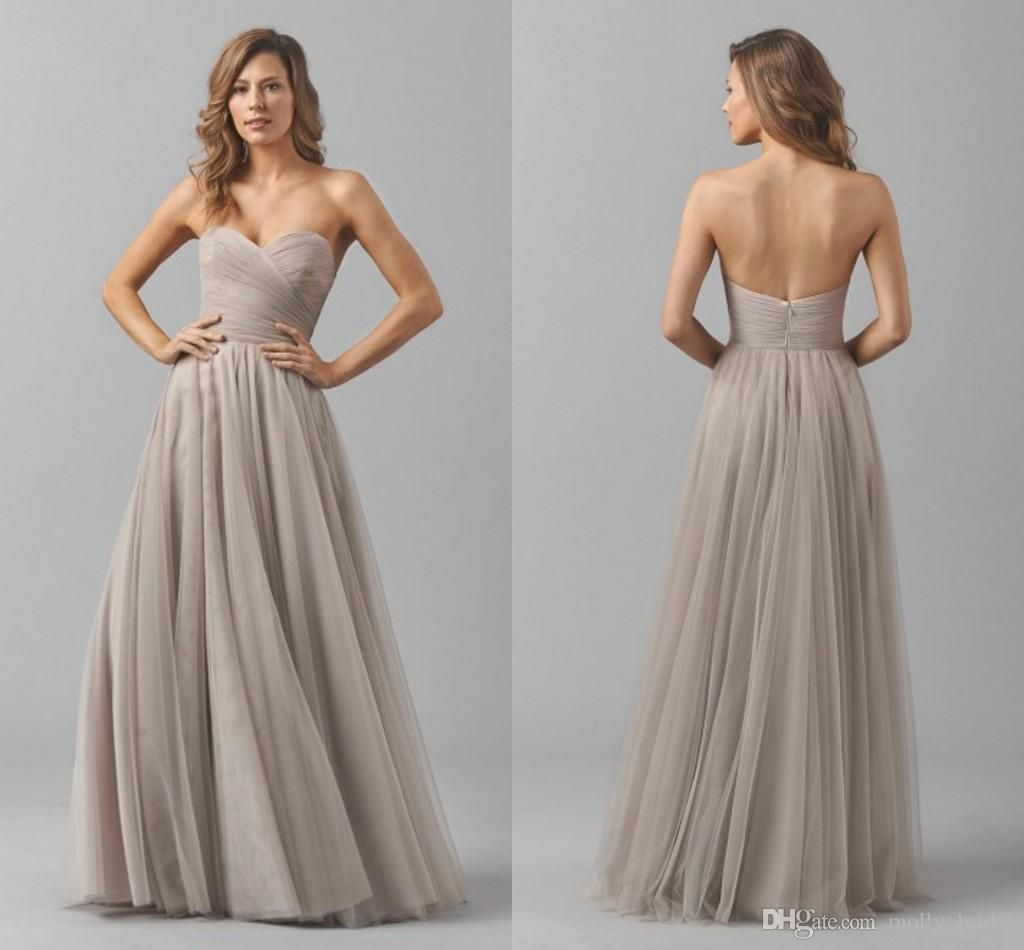 Champagne cheap bridesmaid dresses 2017 new arrival strapless sexy champagne cheap bridesmaid dresses 2017 new arrival strapless sexy backless draped pleats tulle long party dress ombrellifo Image collections