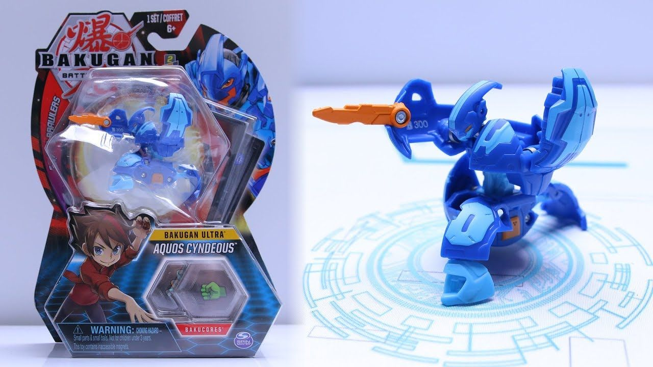 Bakugan Battle AQUOS ULTRA CYNDEOUS UNBOXING