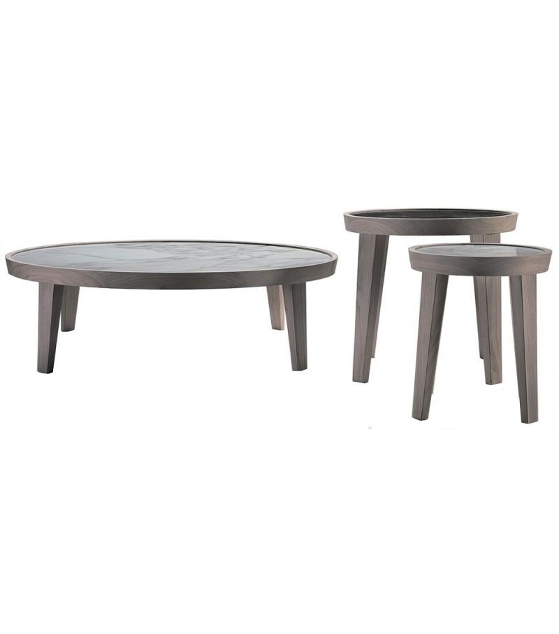 Dida Round Small Table Flexform Coffee Table Table Small Tables