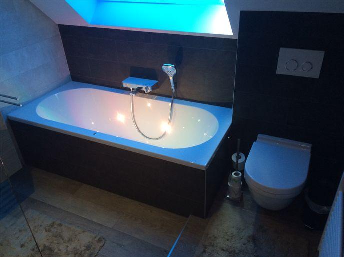 bad met LED verlichting bad Pinterest - led im badezimmer