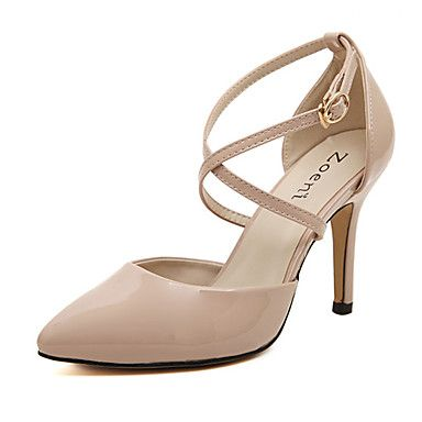 Nobs Womens All Matching Stiletto Heel Solid Color Shoes