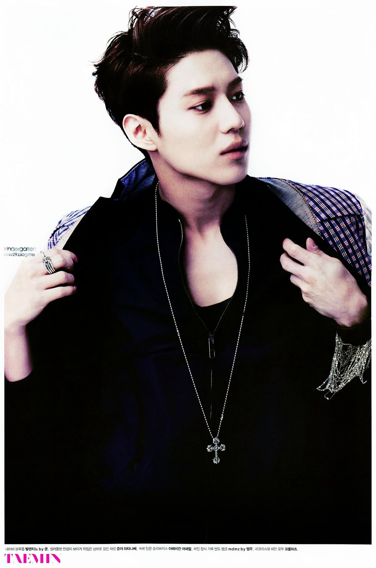 taemin SHINee- @Stacy Stone Stone Stone Wilkins Magazine April Issue 13