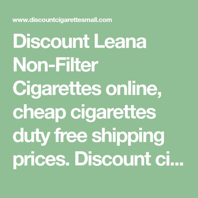 Low prices for leana cigarettes vogue cigarettes cena