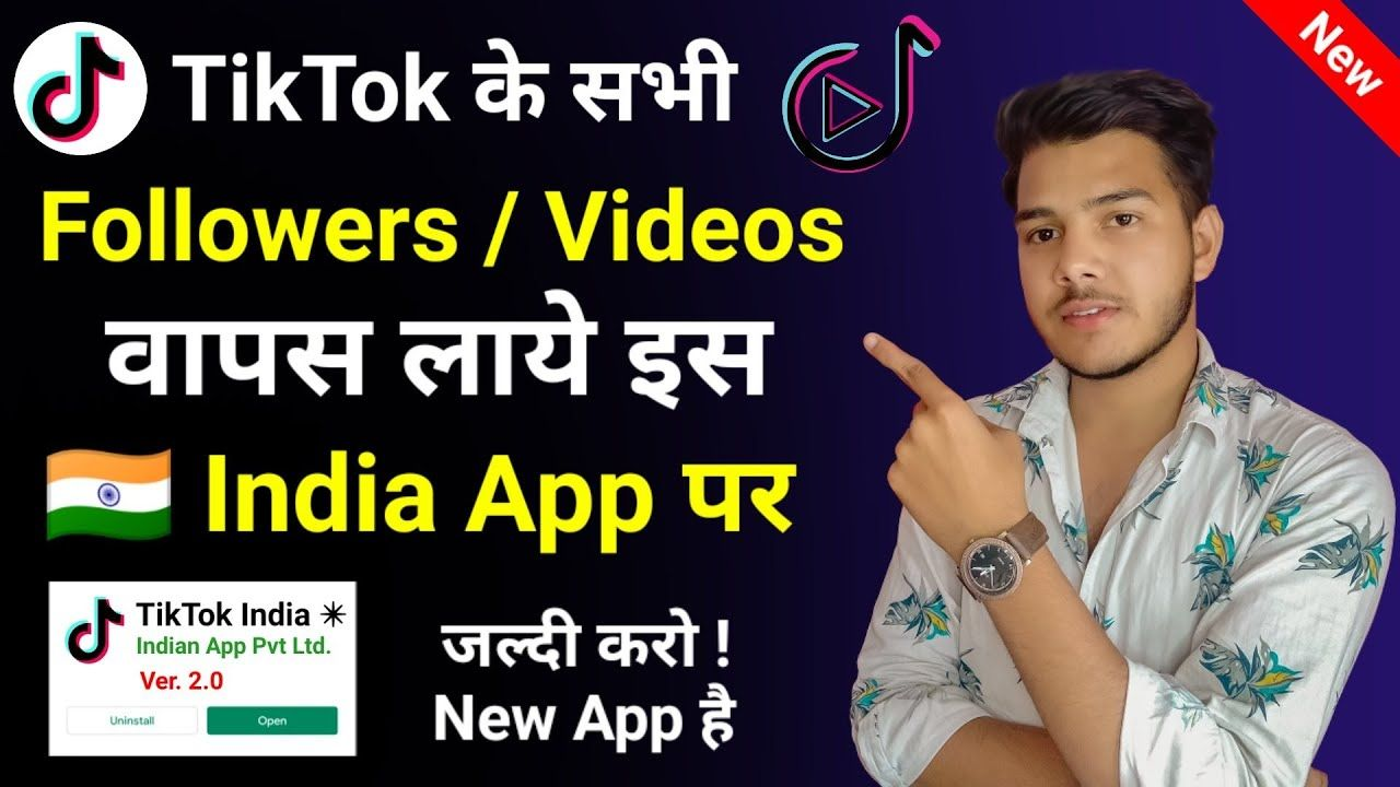 Tiktok Is Back How To Recover All Old Tiktok Followers And Videos Ti Videos Olds App