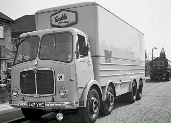 Aec Walls Refrigerated Lorry With Images Old Lorries