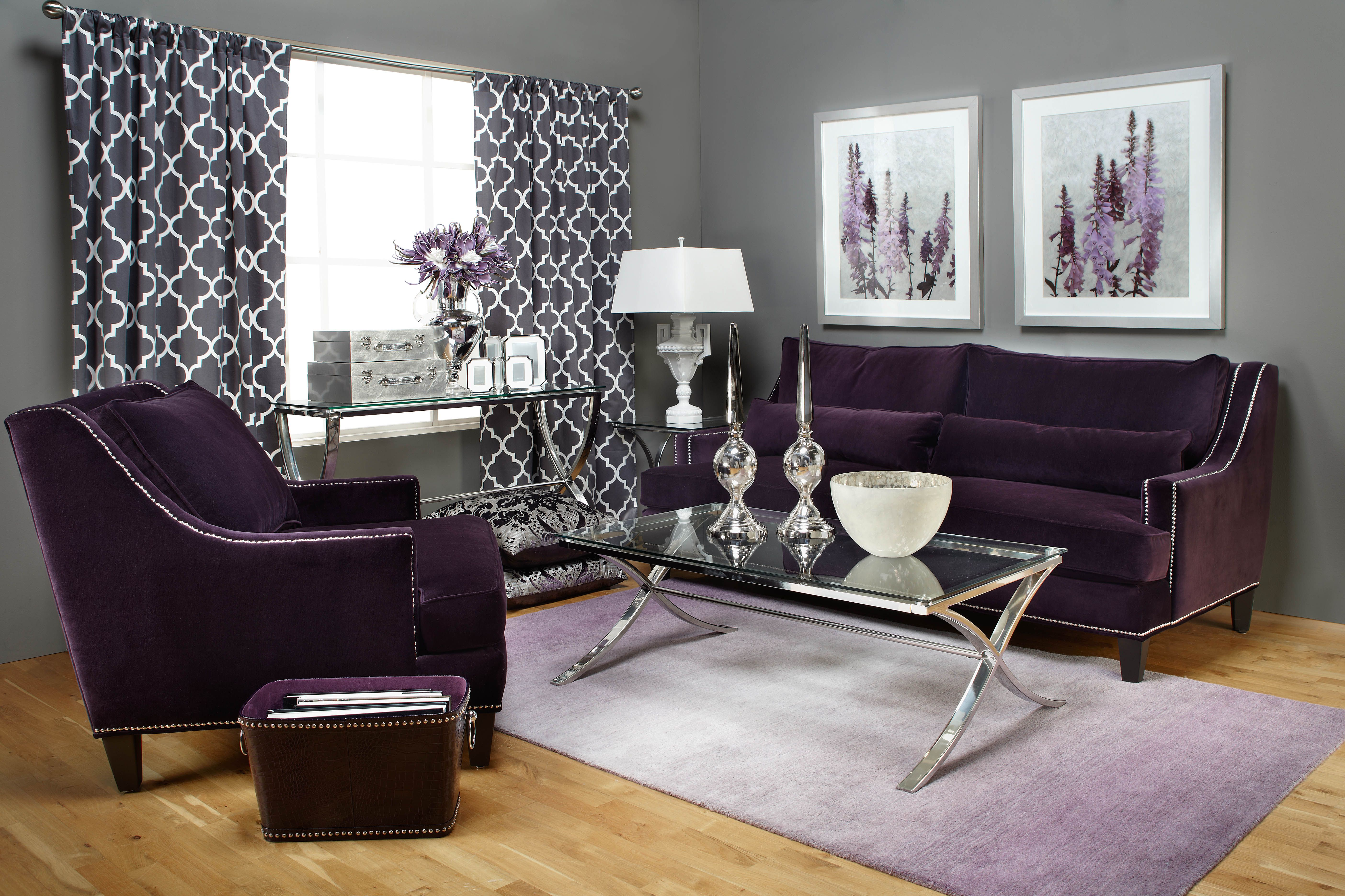 Genial Use Aubergine As The Statement Shade In Your Color Palate.