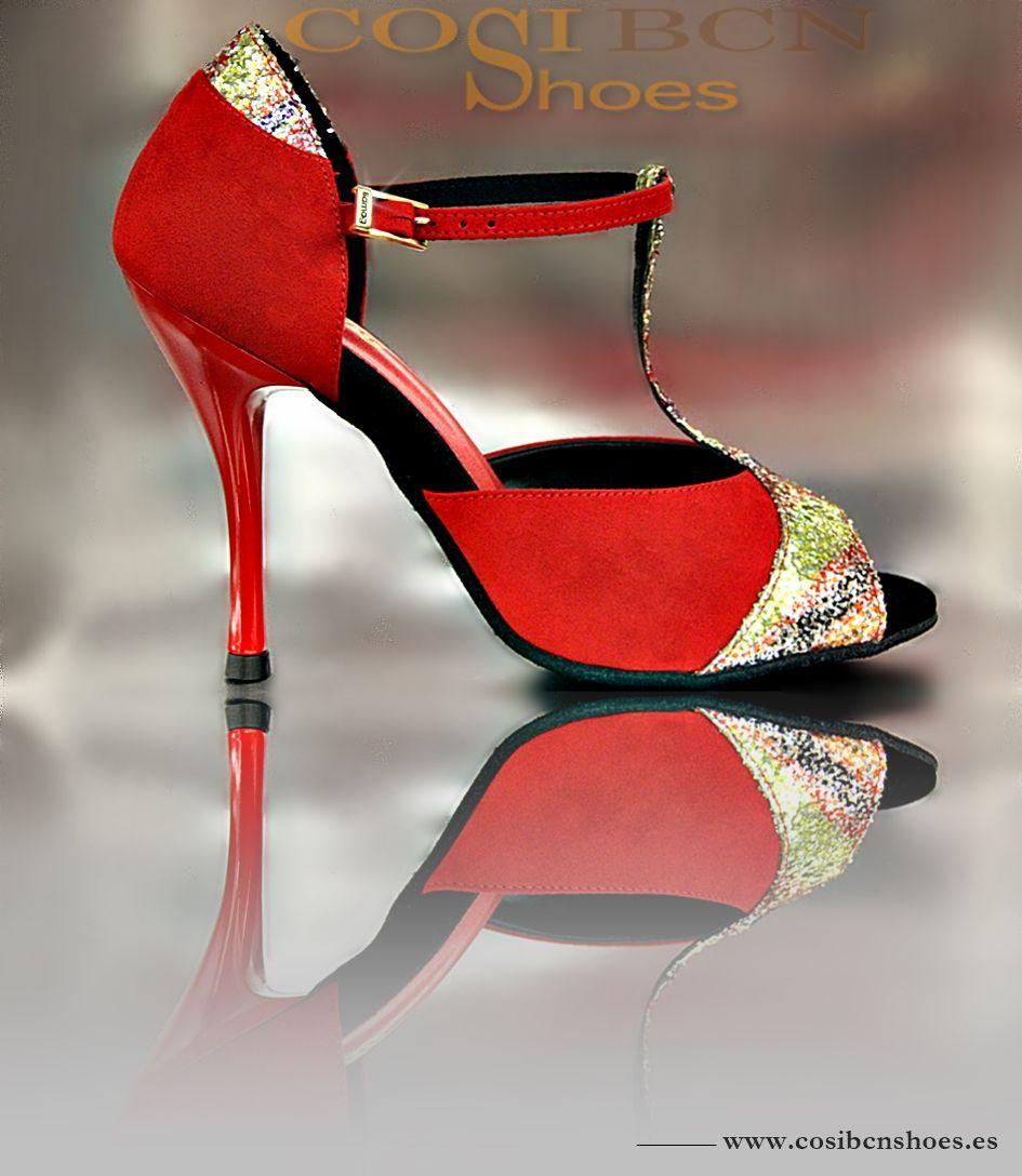 El modelo ARCOIRIS es un Zapato de Baile de estilo clásico y elegante.Plantilla de látex. Pruébalo!! Edición limitada
