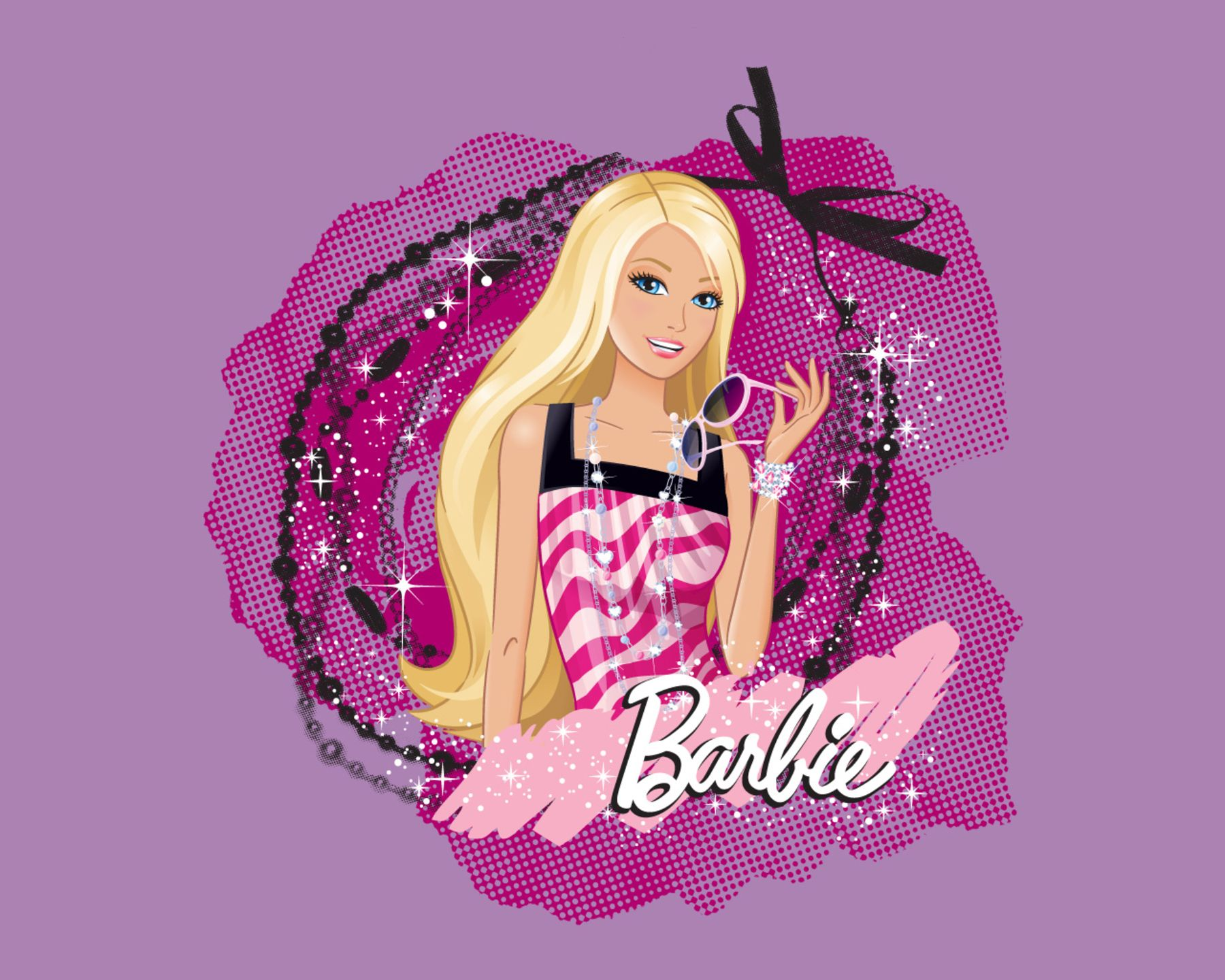 Barbie Wallpaper Hd: Barbie Cartoon Wallpaper HD