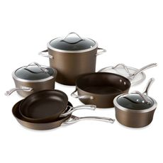 Calphalon 1876789 contemporary nonstick bronze anodized edition.