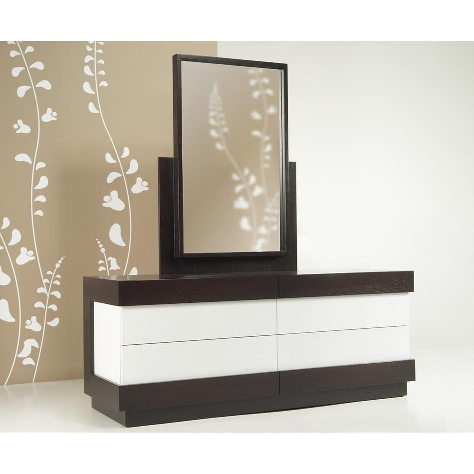 Modern dresser with mirror and chair - Modern Dresser Decor For The Bedroom See More At Http Www
