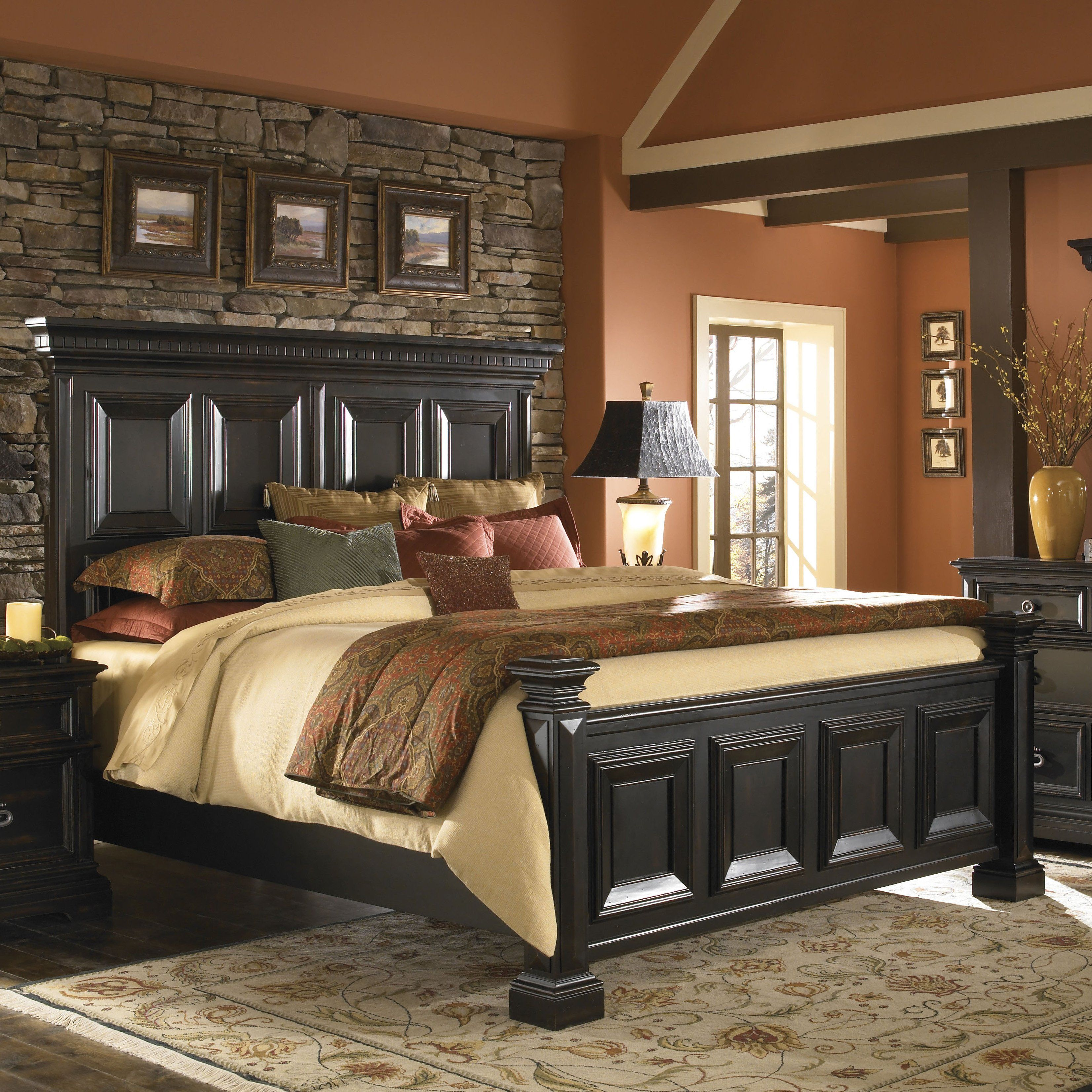 Have to have it. Brookfield Panel Bed 1022.7 hayneedle