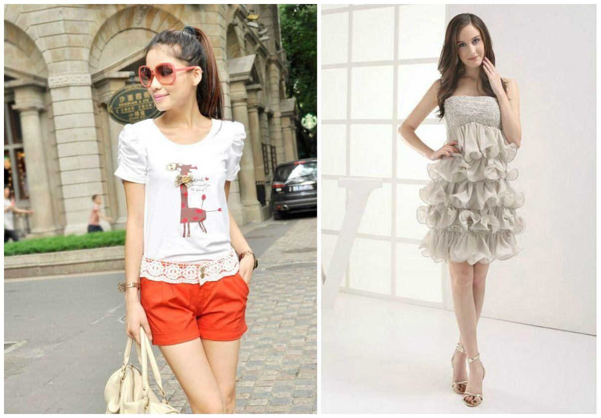 Картинка романтический стиль одежды