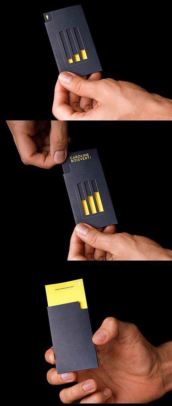 Creative Embossed Business Card Design Ideas at www.vasilenev.com