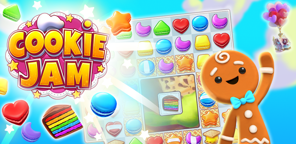 Cookie Jam™ Match 3 Games & Free Puzzle Game Jam cookies