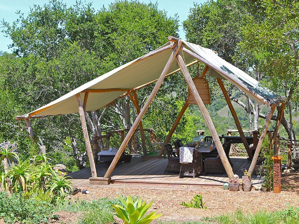 San Simeon State Park Backyard cabin, Backyard, Outdoor