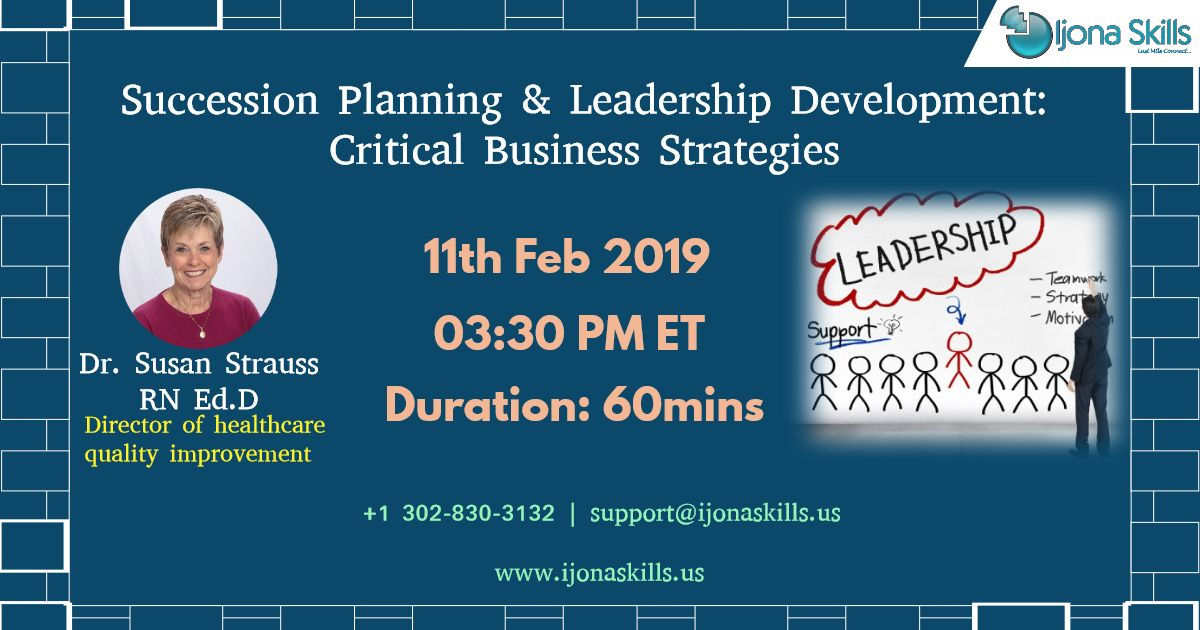Succession Planning & Leadership Development Critical