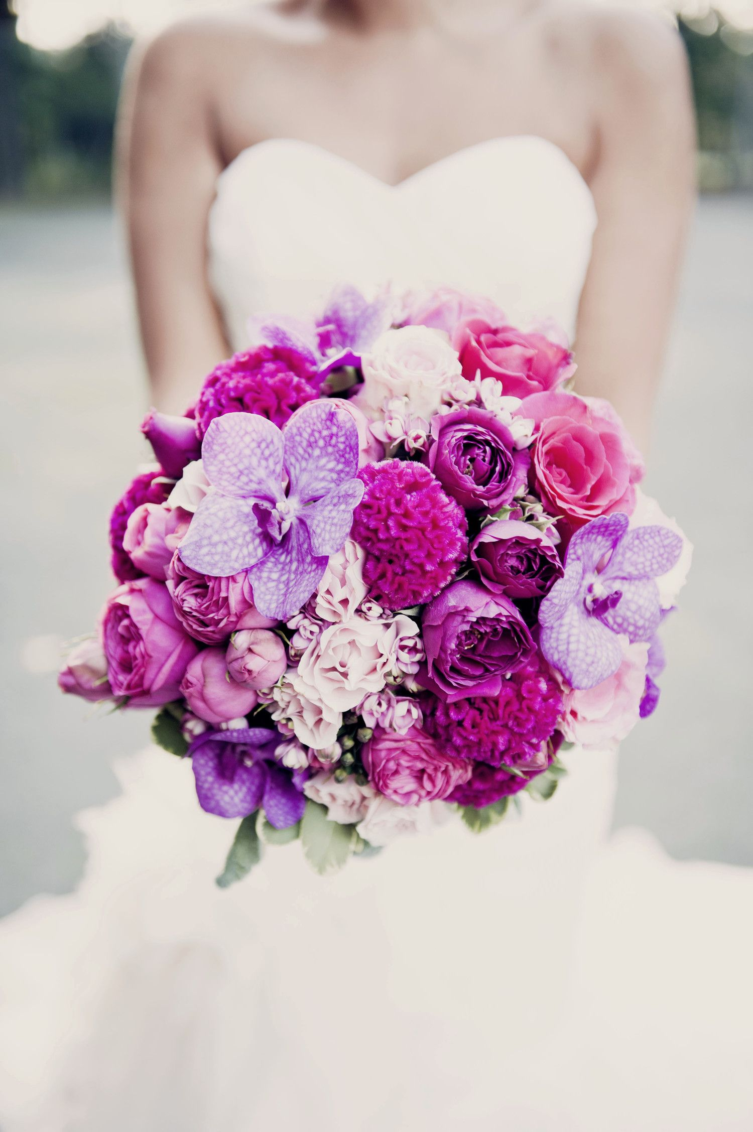 16 Impressive Orchid Wedding Bouquets Orchid Bouquet Wedding