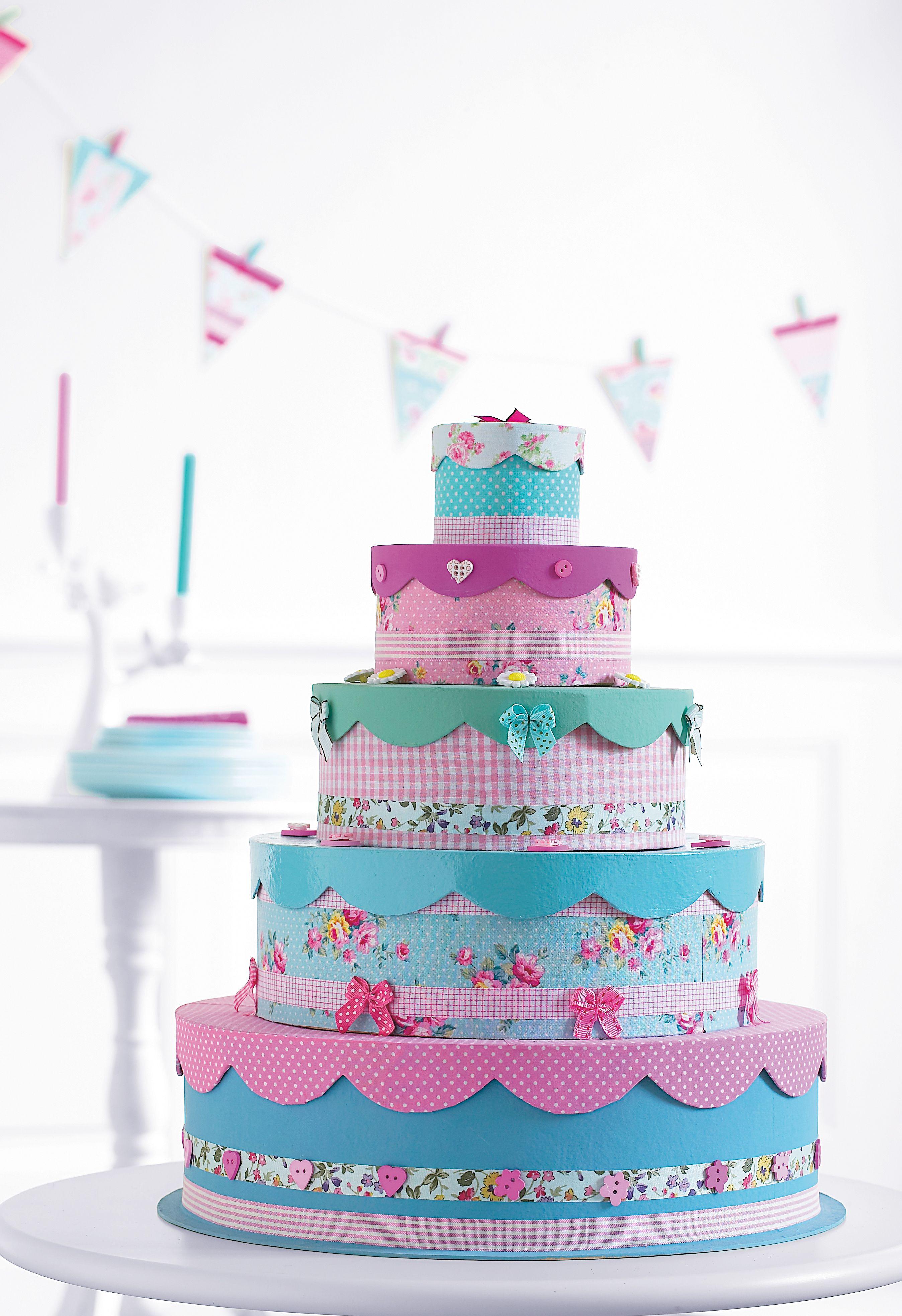 taart knutselen papier