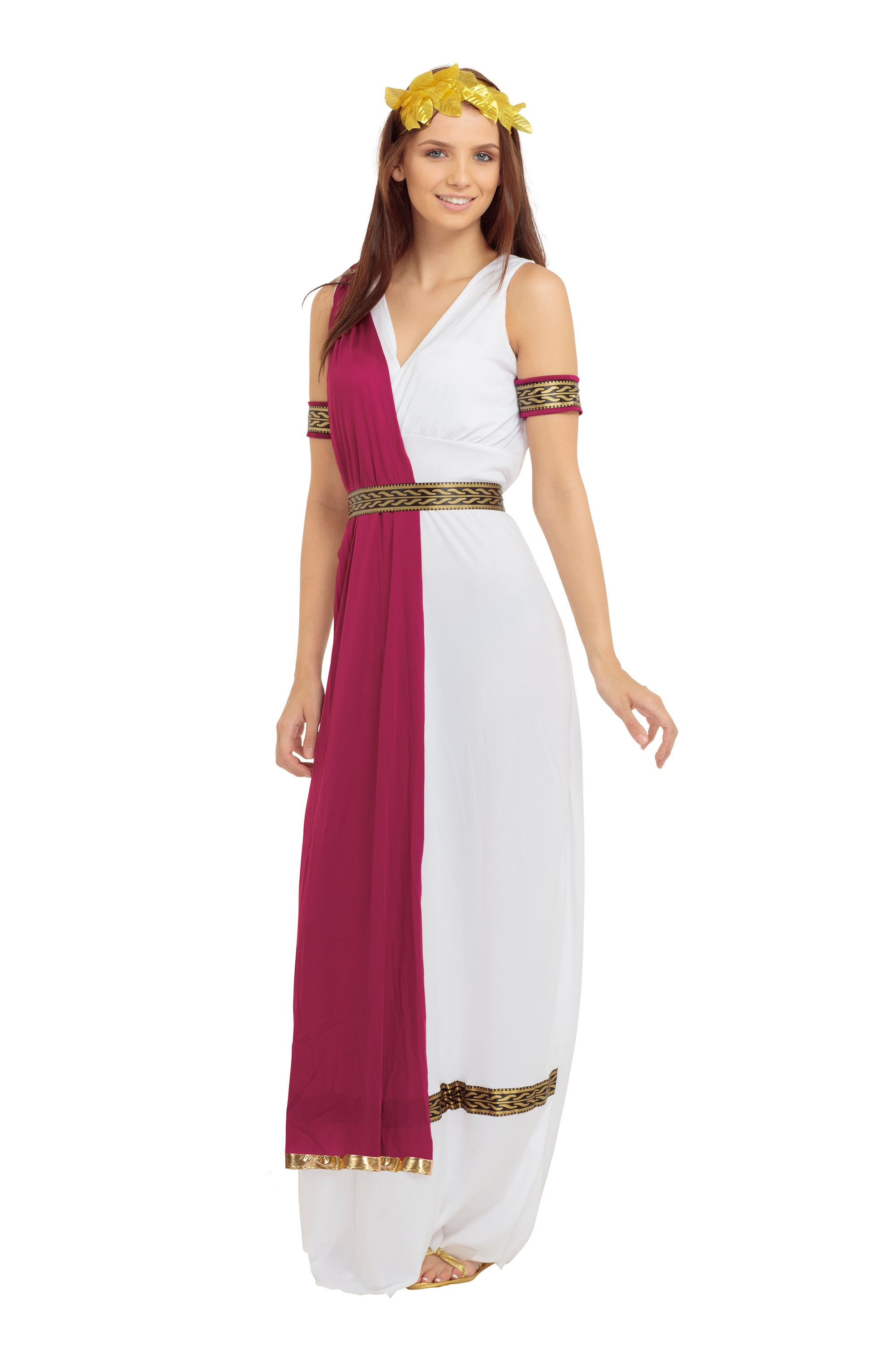 317380a4fec Greek Roman Goddess Toga Womens Fancy Dress Costume Outfit Ladies ...