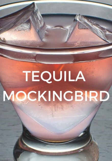 THE TEQUILA MOCKINGBIRD - COCKTAIL -