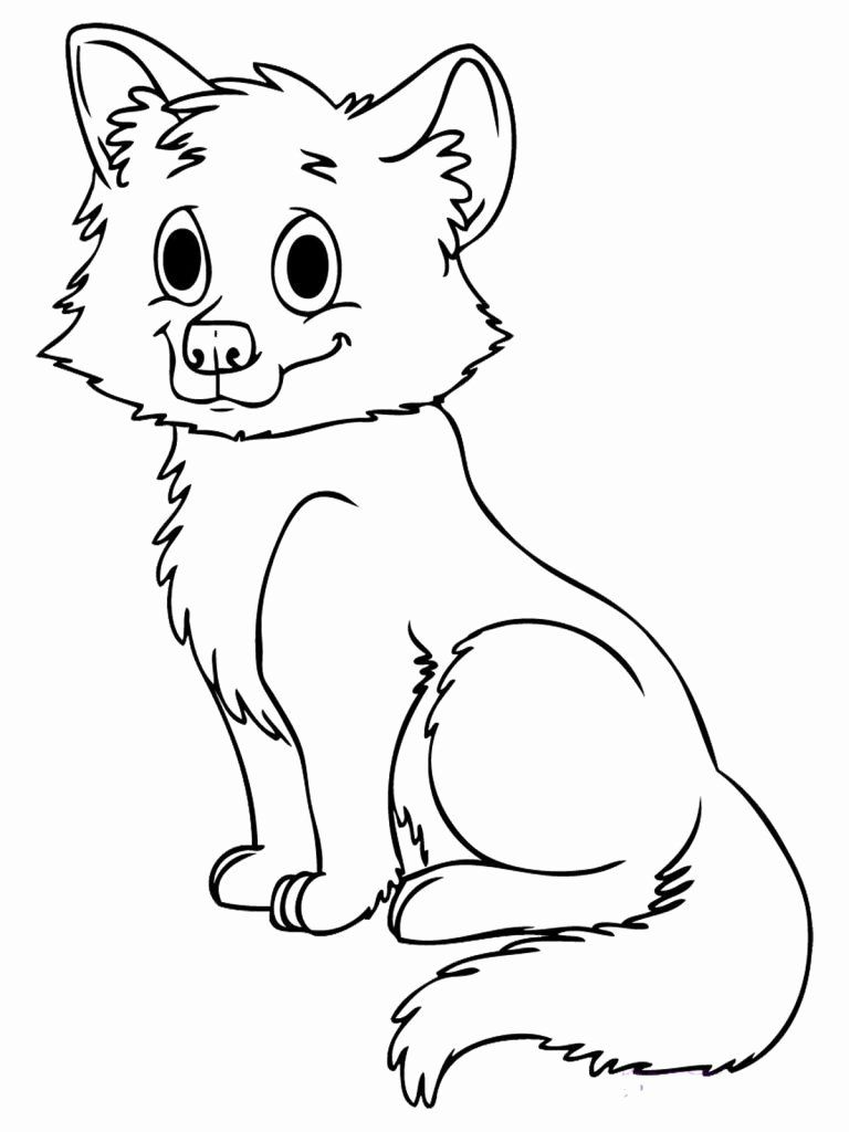 Fox Coloring Pages For Kids In 2020 Fox Coloring Page Animal