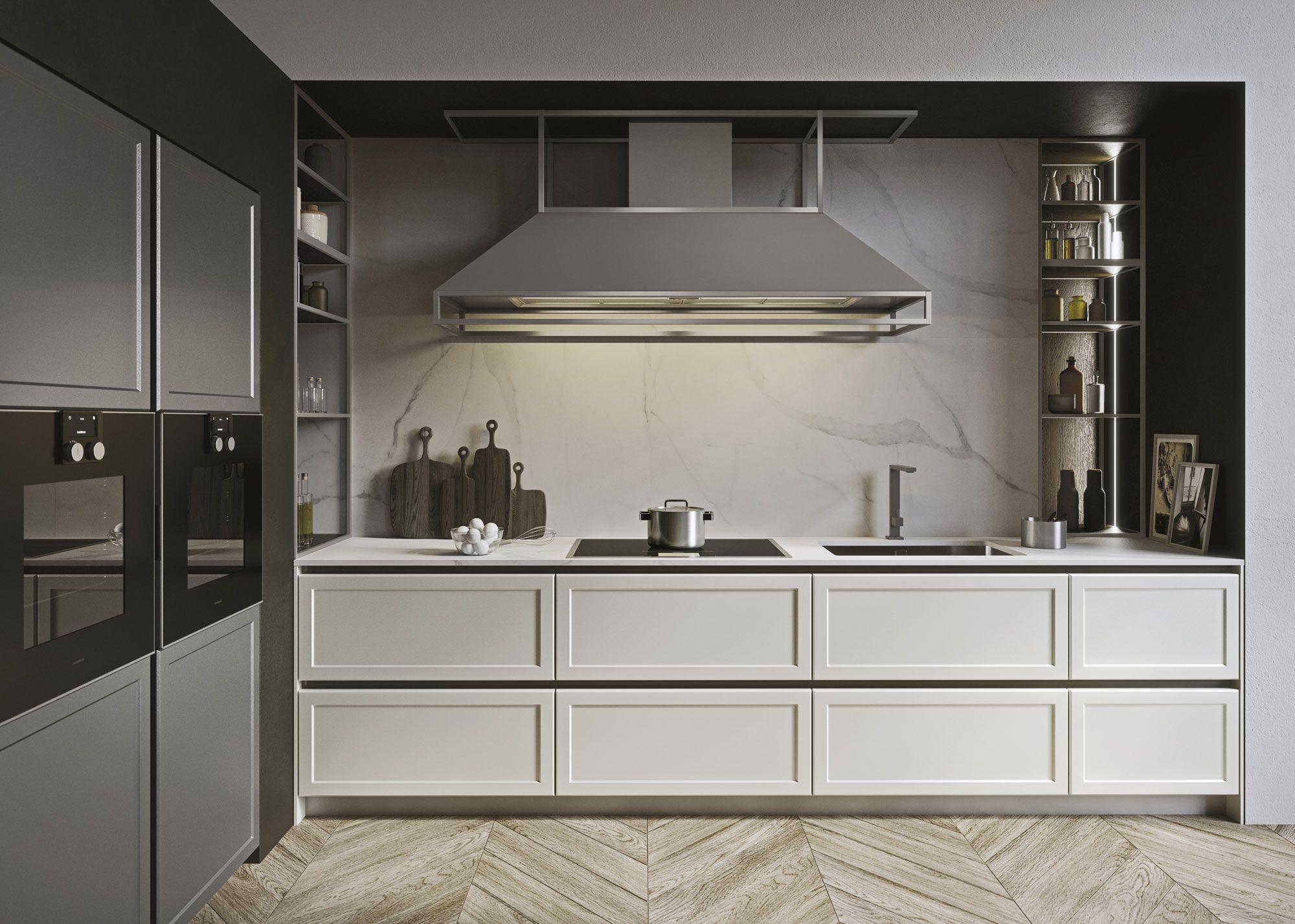 Cucine Snaidero Classiche.Cucine Classiche Con Isola Design Iosa Ghini Con Frame
