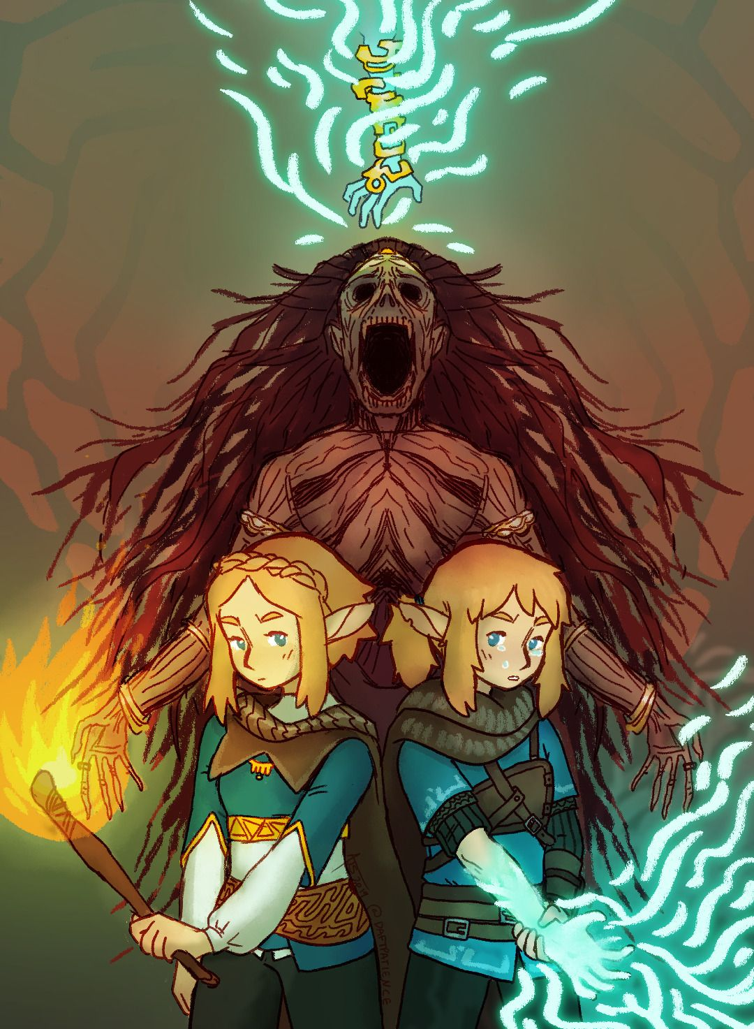 Legend Of Zelda Breath Of The Wild Sequel Art Botw 2 Sfusummerfestival By Daftpatience Legend Of Zelda Legend Of Zelda Breath Botw 2