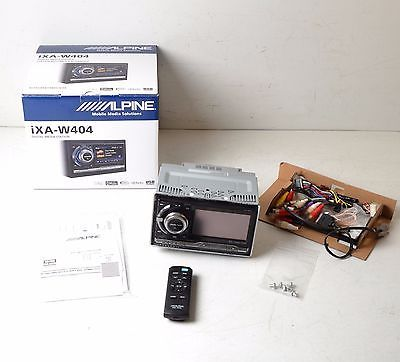 Alpine iXA-W404 Car Audio Stereo In-Dash Receiver CD Player Great Condition! https://t.co/U3qNIoUNxj https://t.co/ZjLWBes4k7