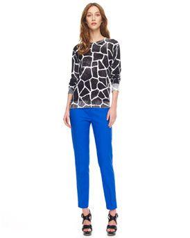 MICHAEL Michael Kors MICHAEL Michael Kors Giraffe-Print Sweater & Stretch Slim Pants