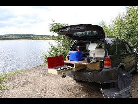 38 How To Convert Suv To A Camper Ford Escape Youtube Suv
