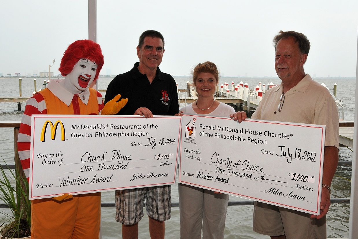 South Jersey Field of Dreams Volunteer Surprised with RMHC