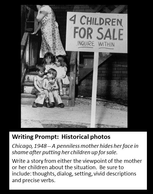 history writing prompt Writing prompts are suggestions to get your creative spirit working to  these two  girls have a long history together, but it comes to a head.