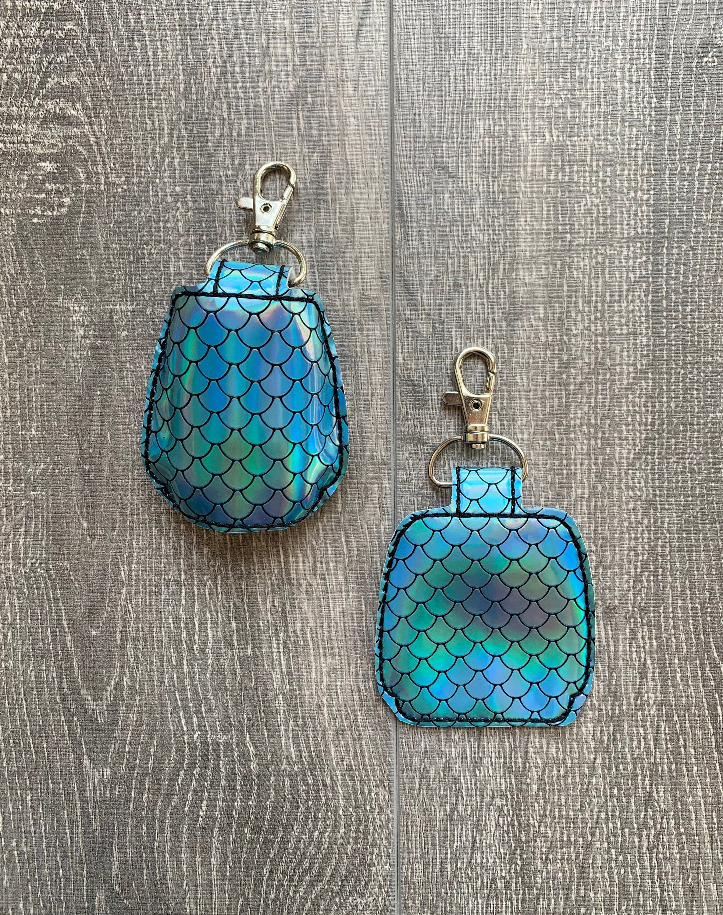 Holographic Mermaid Hand Sanitizer Holder Hand Sanitizer Holder