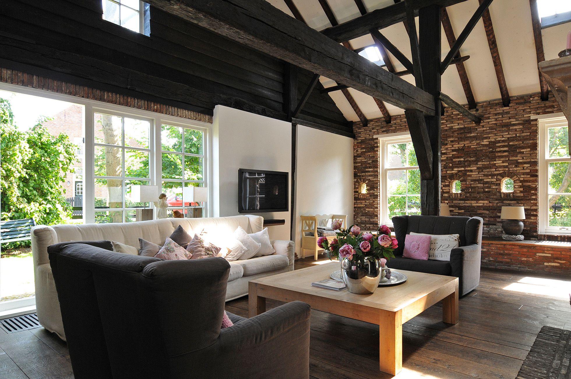 Met een veranda aan de andere kant stijl huis en for Huis en interieur