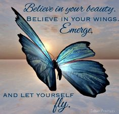 Believe In Your Beauty /  Beautiful Art Print Adhered To Wood And Ready To Display Or Print Without Wood To Frame Yourself / 5''x7'' / Gift