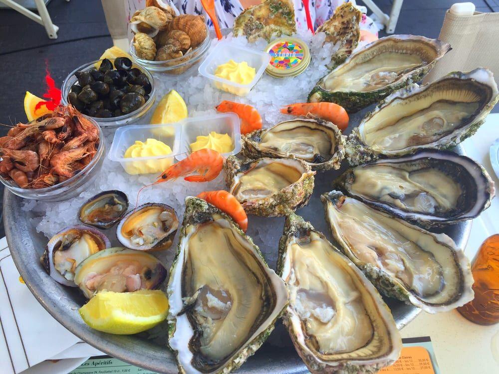 Photo of Café de Turin - Nice, France. Mixed Seafood Plate No 1