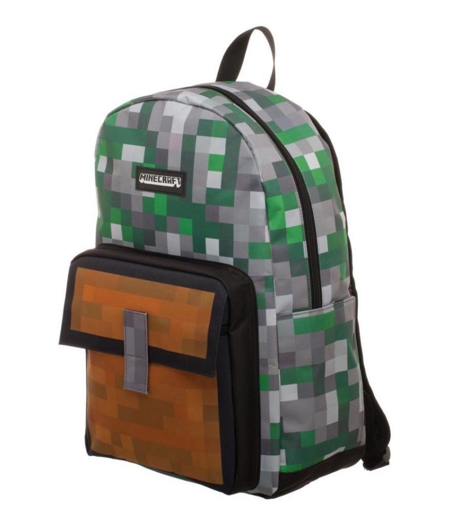 Minecraft Sac à dos Green CREEPER US NEUF TOP