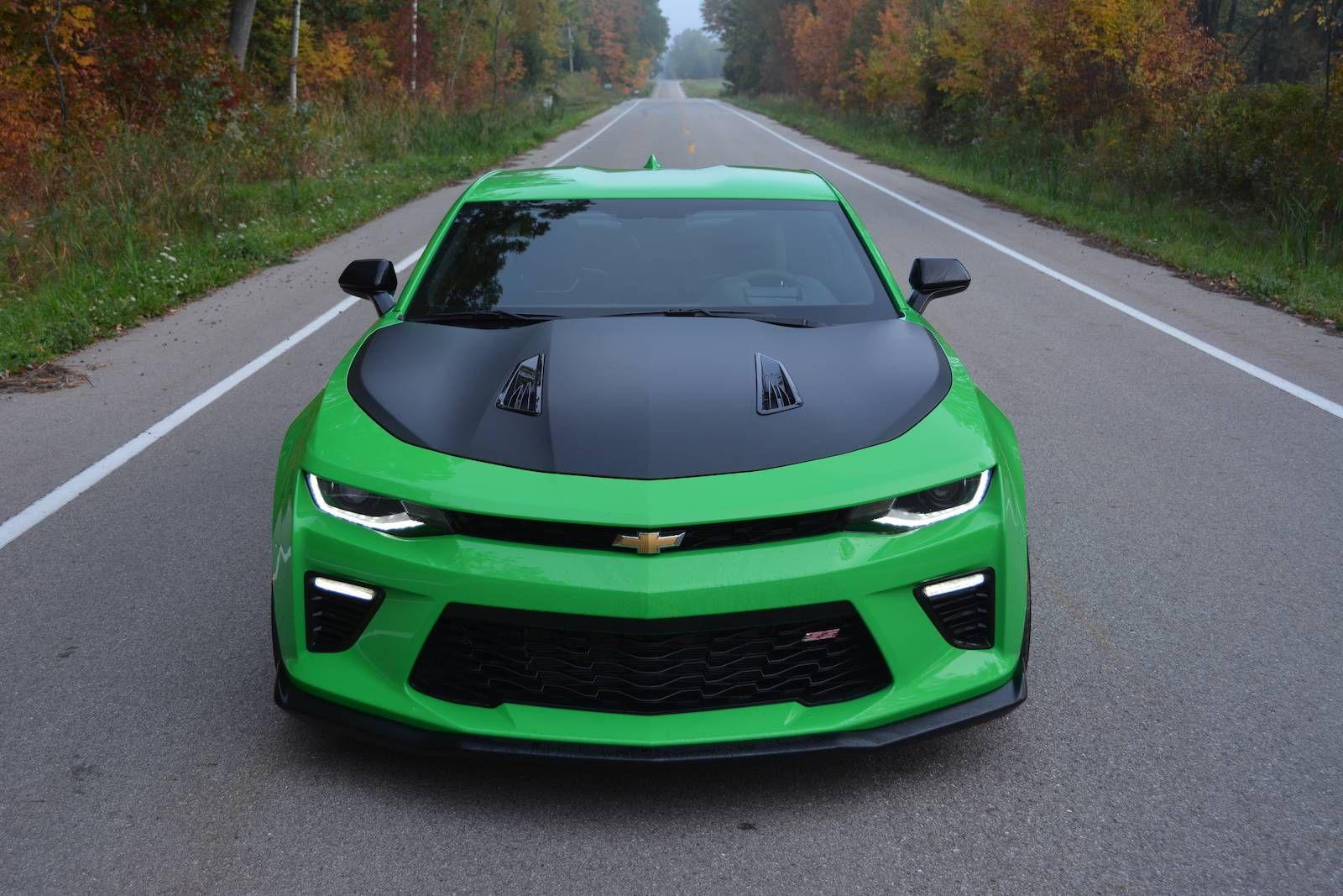 Kudos To Green 2017 Chevrolet Camaro Ss 1 Le