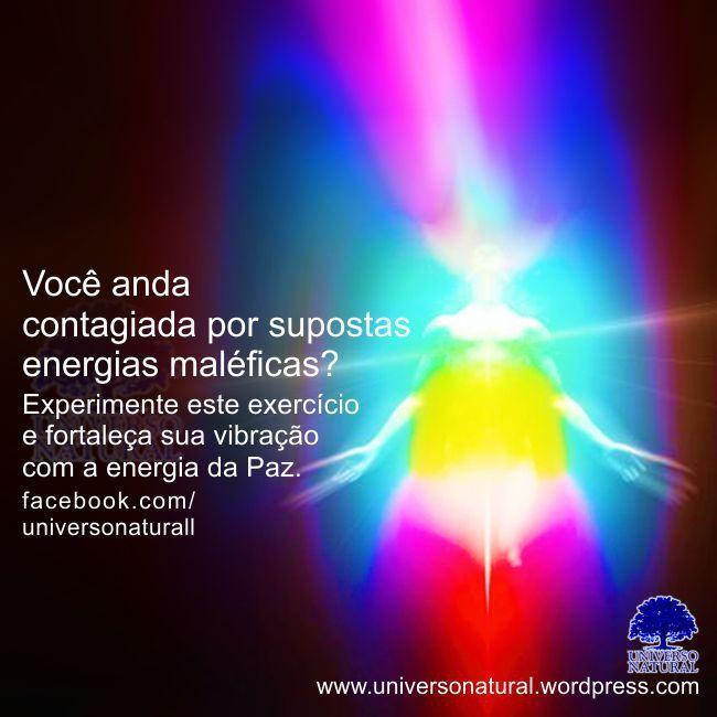 Você anda contagiada por supostas energias maléficas universo natural
