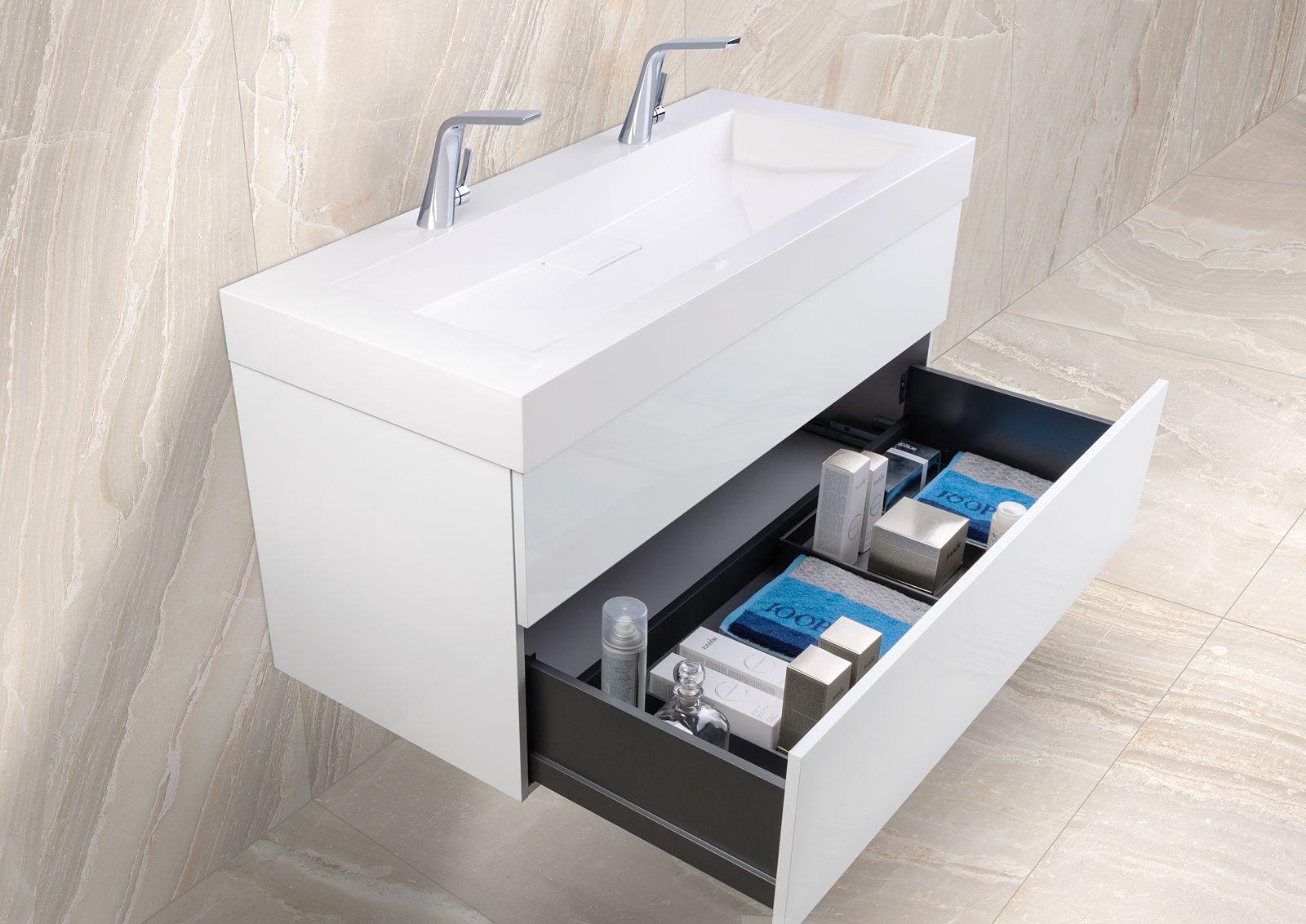 Doppelwaschtisch 120 Cm Badmobel Set Grifflos Mit Led Lichtspiegel Intarbad Lignum Mineralguss Waschtisch Waschtischunterschrank Doppelwaschtisch