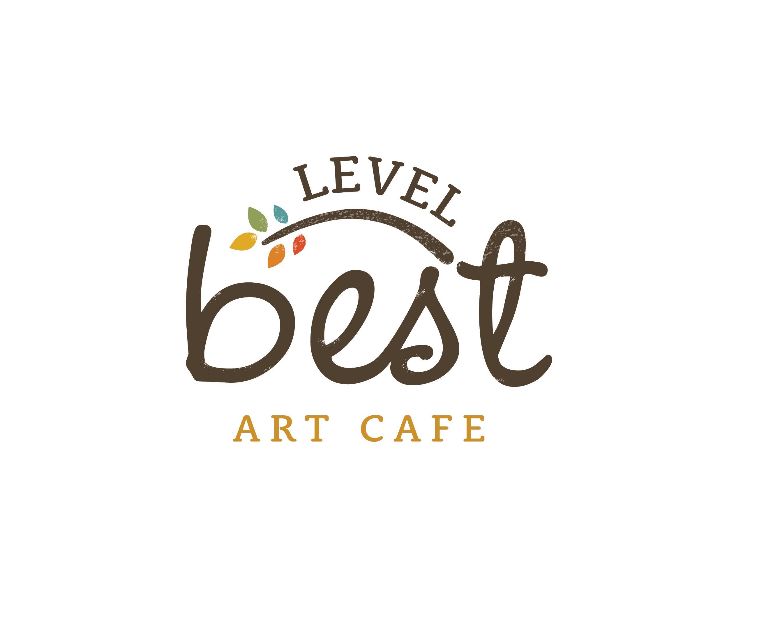 Level Best Art Cafe Logo Design logo design www
