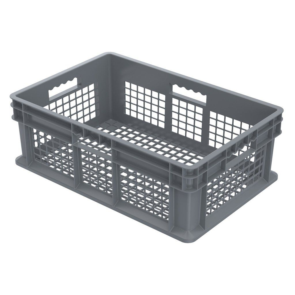 Akro Mils Straight Wall Container Mesh 23 3 4 X 15 3 4 X 8 1 4 Plastic Container Storage Freezer Storage Bins Storage Bins