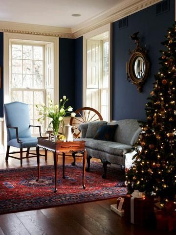 Attractive Blending Period Details With Modern Comforts, A New Colonial Style Home  Conjures The Charm Of Christmas Past To Give One Chicago Area Family A  Memorable ...