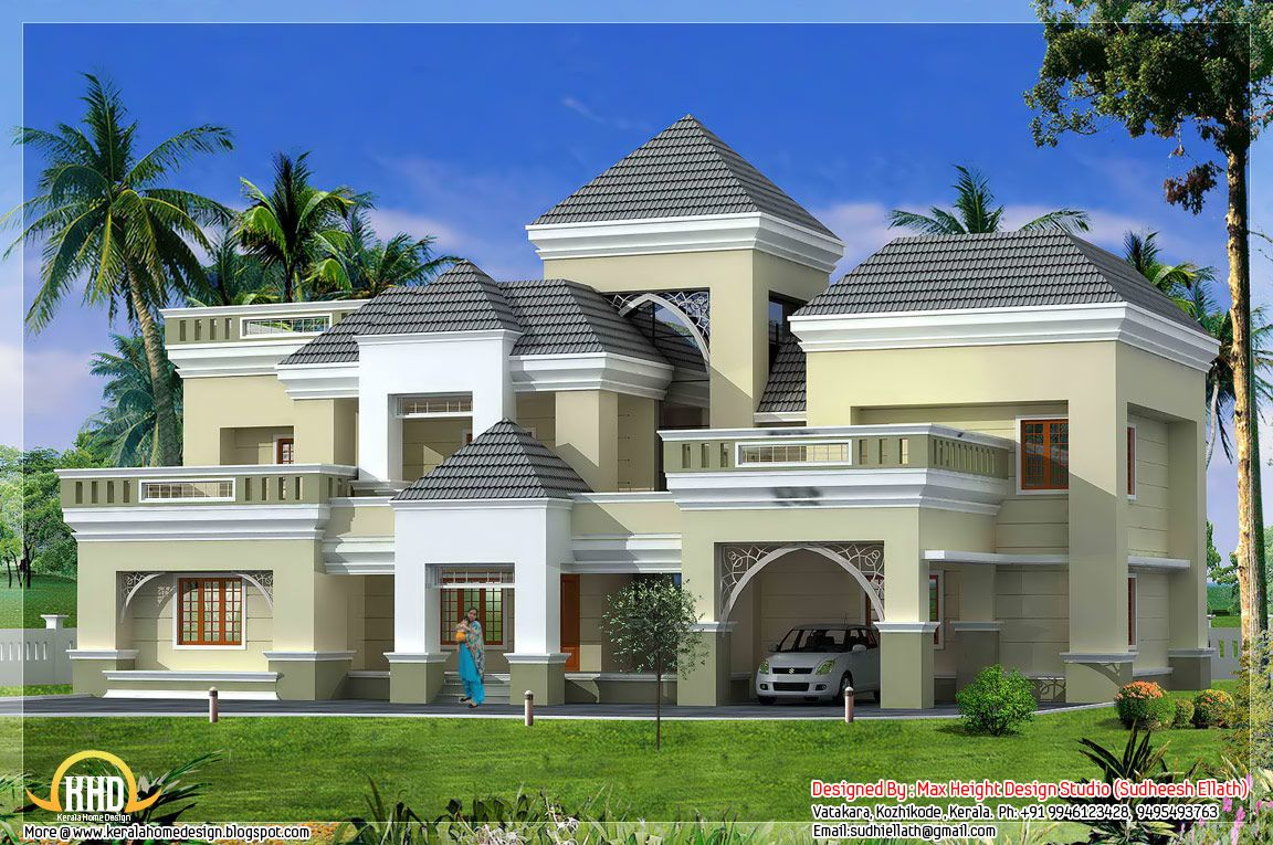 Unique Kerala Home Plan And Elevation Indian Home Decor Kerala House Design Unique House Plans Kerala Houses