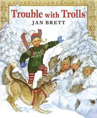 Trouble With Trolls Hudson Library Historical Society Jan Brett Winter Books Christmas Books