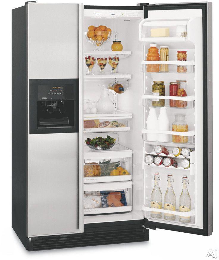 Inside Superba Side By Side KitchenAid Refrigerator Filters